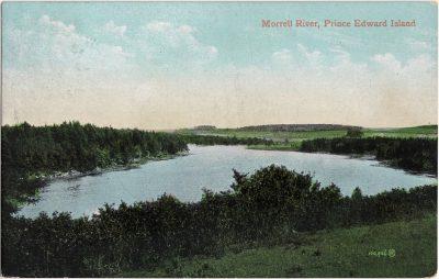 , Morrell River, Prince Edward Island (0984), PEI Postcards