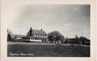 , Keppoch Beach Hotel (0982), PEI Postcards