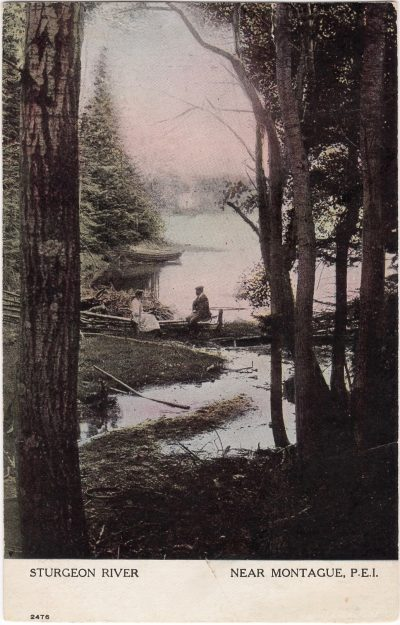 , Sturgeon River Near Montague, P.E.I. (1000), PEI Postcards
