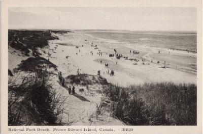 , National Park Beach, Prince Edward Island, Canada. (1018), PEI Postcards