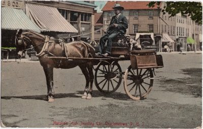 , Murphy's Irish Jaunting Car, Charlottetown, P.E.I. (1009), PEI Postcards