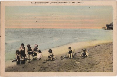 , Cavendish Beach, Prince Edward Island (1027), PEI Postcards