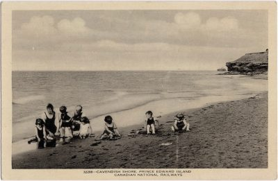 , Cavendish Shore, Prince Edward Island (1026), PEI Postcards