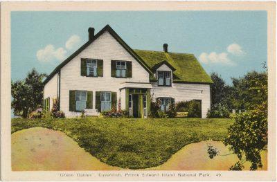 ", ""Green Gables"", Cavendish, Prince Edward Island National Park. (1028), PEI Postcards"