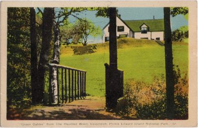""", """"Green Gables"""" from the Haunted Wood, Cavendish, Prince Edward Island National Park. (1029), PEI Postcards"""
