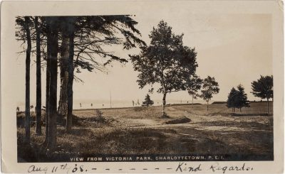 , View From Victoria Park, Charlottetown, P.E.I. (1040), PEI Postcards