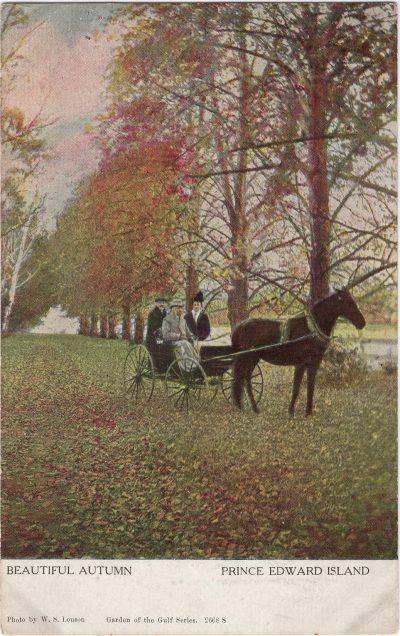 , Beautiful Autumn Prince Edward Island (1086), PEI Postcards