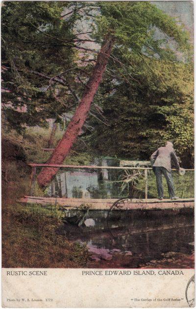 , Rustic Scene Prince Edward Island, Canada (1073), PEI Postcards