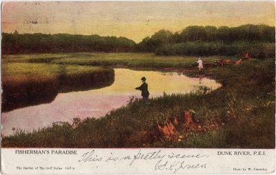 , Fisherman's Paradise Dunk River, P.E.I. (1067), PEI Postcards