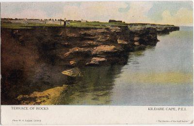 , Terrace of Rocks Kildare Cape, P.E.I. (1061), PEI Postcards