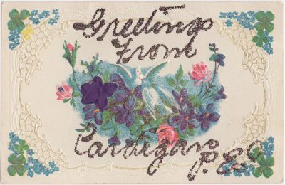 , Greetings from Cardigan, P.E.I. (1046), PEI Postcards