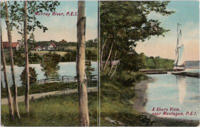 , Murray River, P.E.I. – A Shore View near Montague, P.E.I. (1122), PEI Postcards