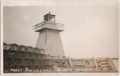 , Front Range Light, Murray Harbor, P.E.I. (1123), PEI Postcards