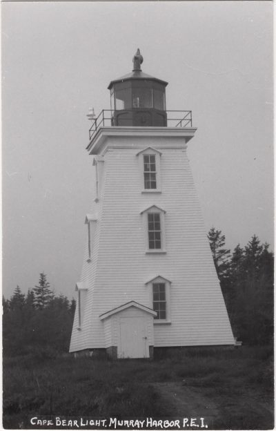 , Cape Bear Light, Murray Harbor, P.E.I. (1116), PEI Postcards