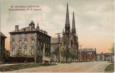 , St. Dunstans Cathedral, Charlottetown, P.E. Island (1126), PEI Postcards