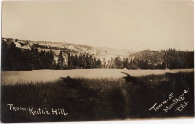 , From Keith's Hill Town of Montague, P.E.I. (1104), PEI Postcards
