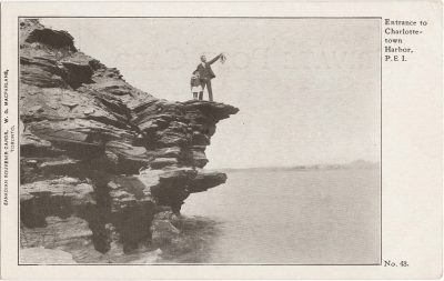 , Entrance to Charlottetown Harbor, P.E.I. (1105), PEI Postcards