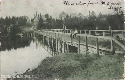 , Fortune Bridge, P.E.I. (1103), PEI Postcards