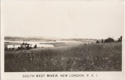 , South West River, New London, P.E.I. (1100), PEI Postcards