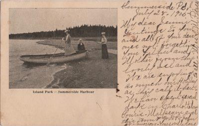 , Island Park – Summerside Harbour (1095), PEI Postcards