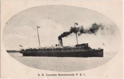, S.S. Empress Summerside P.E.I. (1091), PEI Postcards