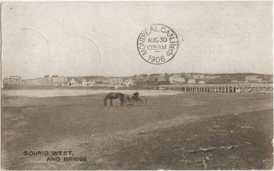 , Souris West, and Bridge (1120), PEI Postcards