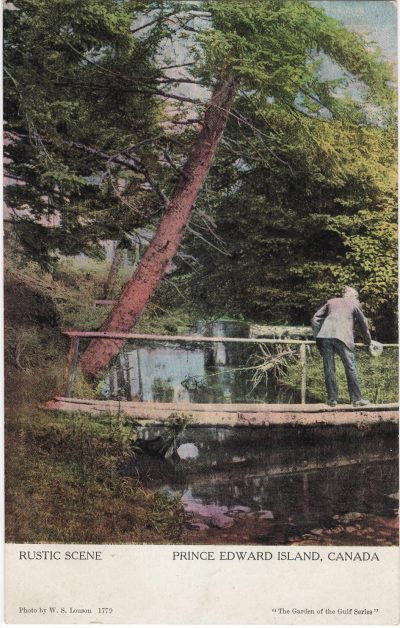 , Rustic Scene Prince Edward Island, Canada (1158), PEI Postcards