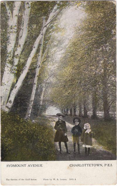 , Sydmount Avenue Charlottetown, P.E.I. (1161), PEI Postcards