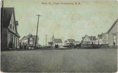 , Main St., Cape Tormentine, N.B. (1157), PEI Postcards