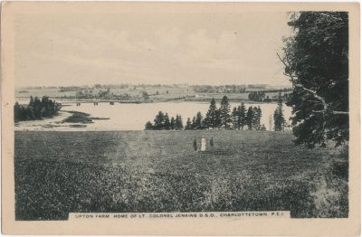 , Upton Farm, home of Lt. Colonel Jenkins D.S.O. Charlottetown, P.E.I. (1147), PEI Postcards