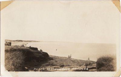 , Beach at Cavendish, P.E. Island (1132), PEI Postcards
