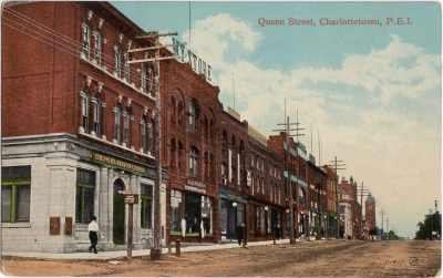 , Queen Street, Charlottetown, P.E.I. (1130), PEI Postcards