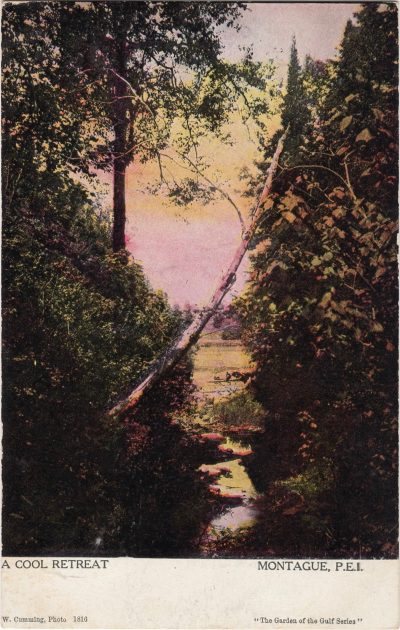 , A Cool Retreat Montague, P.E.I. (1159), PEI Postcards