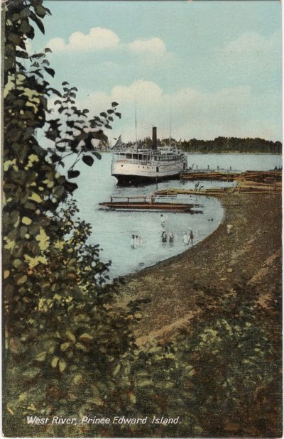 , West River, Prince Edward Island (1171), PEI Postcards