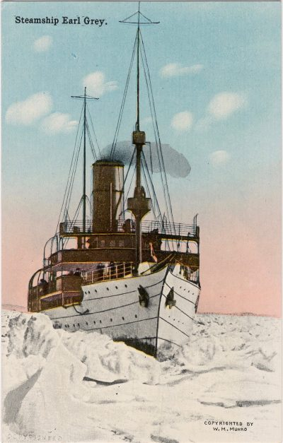 , Steamship Earl Grey. (1172), PEI Postcards