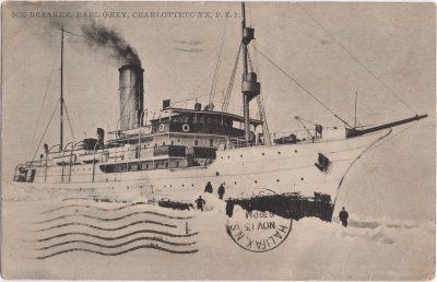, Ice Breaker Earl Grey, Charlottetown, P.E.I. (1176), PEI Postcards