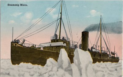 , Steamship Minto. (1174), PEI Postcards