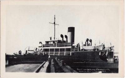 , Northumberland Ferries Ltd. Wood Is P.E.I. to Caribou, N.S. (1183), PEI Postcards