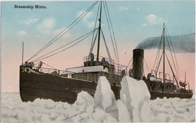 , Steamship Minto. (1188), PEI Postcards