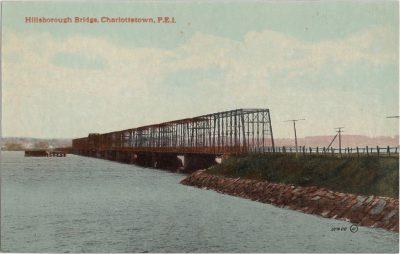 , Hillsborough Bridge, Charlottetown, P.E.I. (1187), PEI Postcards