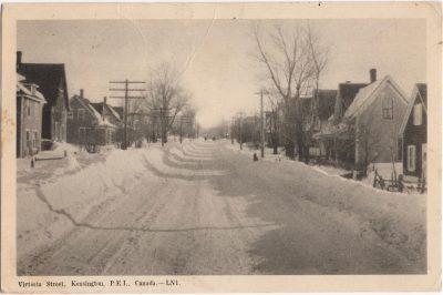 , Victoria Street, Kensington, P.E.I. Canada. (1191), PEI Postcards