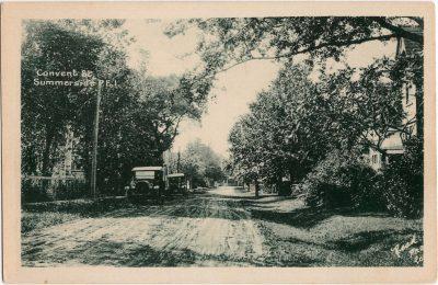 , Convent St., Summerside P.E.I. (1198), PEI Postcards