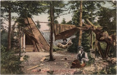 , MicMac Indians, Rocky Point, P.E.I. (1201), PEI Postcards