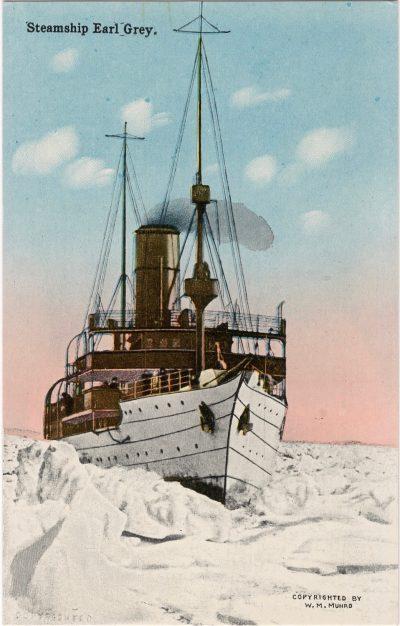 , Steamship Earl Grey. (1170), PEI Postcards