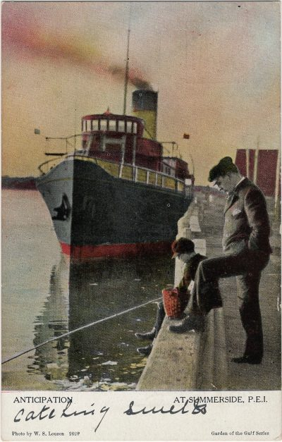 , Anticipation At Summerside, P.E.I. (1202), PEI Postcards