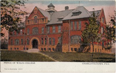 , Prince of Wales College (1253), PEI Postcards