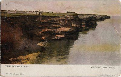 , Terrace of Rocks Kildare Cape, P.E.I. (1256), PEI Postcards