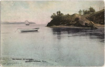 , Entrance to Harbor, Charlottetown, P.E.I. (1264), PEI Postcards