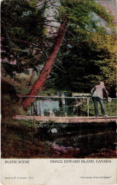 , Rustic Scene, Prince Edward Island, Canada (1210), PEI Postcards