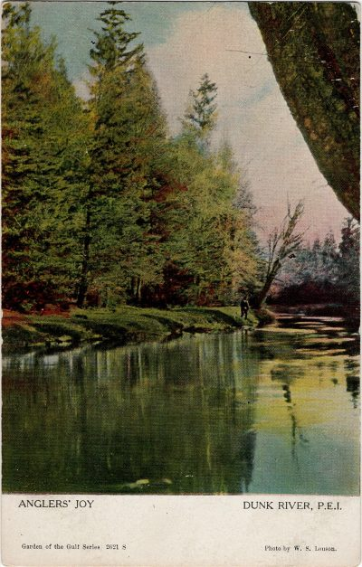 , Anglers' Joy Dunk River, P.E.I. (1213), PEI Postcards